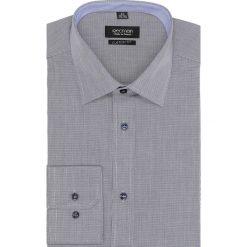 Koszula bexley 2457 długi rękaw custom fit granatowy. Niebieskie koszule męskie Recman, m, z długim rękawem. Za 129,00 zł.