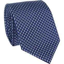 Jedwabny krawat KWWR011000. Szare krawaty męskie Giacomo Conti, z jedwabiu, eleganckie. Za 199,00 zł.