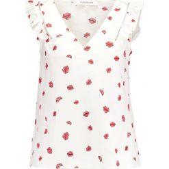 Bluzki asymetryczne: Morgan OPASCA Bluzka off white/cherry