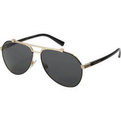 Dolce&Gabbana Okulary przeciwsłoneczne grey. Szare okulary przeciwsłoneczne męskie wayfarery marki Dolce&Gabbana. Za 919,00 zł.