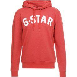 GStar HALGEN CORE HOODED Bluza z kapturem ketchup heather. Szare bluzy męskie rozpinane marki G-Star. Za 419,00 zł.