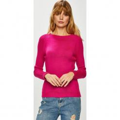 Trendyol - Sweter. Szare swetry klasyczne damskie marki Vila, l, z bawełny, z okrągłym kołnierzem. Za 59,90 zł.