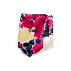 Krawaty męskie: Krawat męski FLOWERS