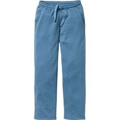 Jeansy męskie: Spodnie dresowe Regular Fit bonprix niebieski dżins