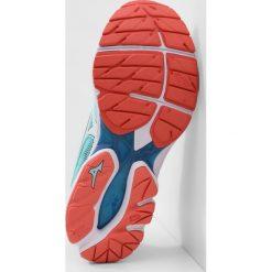 Buty sportowe damskie: Mizuno WAVE RIDER 21 Obuwie do biegania treningowe aqua splash/white/blue sapphire