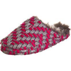 """Kapcie damskie: Kapcie """"Knitty Mule"""" w kolorze szaro-różowym"""