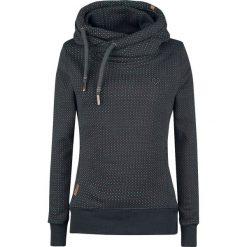 Bluzy rozpinane damskie: Alife and Kickin Sarah Sweat Bluza z kapturem damska ciemnozielony