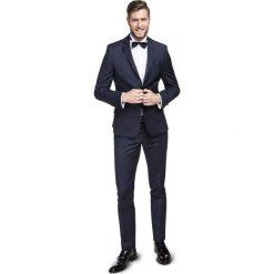 Garnitur LEONARDO GXGS900036. Szare garnitury marki Scotch & Soda, z elastanu. Za 1698,00 zł.