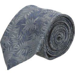Krawaty męskie: krawat platinum grafit classic 209