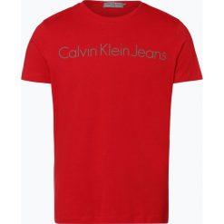 T-shirty męskie: Calvin Klein Jeans – T-shirt męski, czerwony
