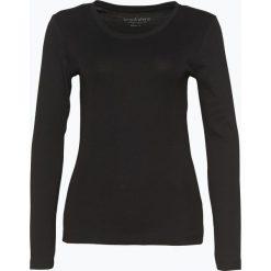 Brookshire - Damska koszulka z długim rękawem, czarny. Czarne t-shirty damskie marki brookshire, m, w paski, z dżerseju. Za 69,95 zł.