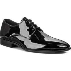Półbuty LLOYD - Jerez 21-627-20 Czarny. Czarne buty wizytowe męskie Lloyd, z lakierowanej skóry, z paskami. Za 899,00 zł.
