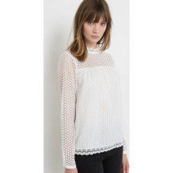 Bluzki asymetryczne: Koronkowa bluzka