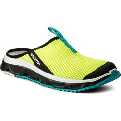 Chodaki męskie: Klapki SALOMON - Rx Slide 3.0 401452 29 M0 Safety Yellow/Black/Bluebird