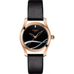 RABAT ZEGAREK TISSOT T- LADY T-WAVE T112.210.36.051.00. Czarne zegarki damskie TISSOT, ze stali. W wyprzedaży za 1566,40 zł.