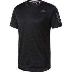 Adidas Koszulka męska Response Short Sleeve Tee czarna r. XL. Białe koszulki sportowe męskie marki Adidas, l, z jersey, do piłki nożnej. Za 113,99 zł.