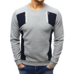 Swetry męskie: Sweter męski szary (wx1027)