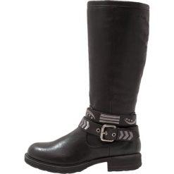 S.Oliver RED LABEL Kowbojki i Buty motocyklowe black. Czarne buty zimowe damskie marki s.Oliver RED LABEL, z materiału. W wyprzedaży za 159,50 zł.