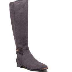 Oficerki TED BAKER - Lykla 9-17760 Grey. Czarne buty zimowe damskie marki Ted Baker, z materiału. Za 1449,00 zł.