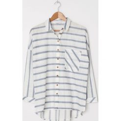 Wyprzedaż koszule damskie w niebieskie paski Zniżki do  J6krF