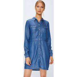 Noisy May - Sukienka. Szare sukienki mini Noisy May, na co dzień, l, z lyocellu, casualowe, proste. Za 169,90 zł.