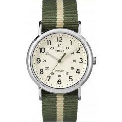 Zegarek Timex Męski TW2P72100 Weekender Indiglo zielony. Zielone zegarki męskie Timex. Za 204,99 zł.