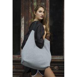 Dwustronna Torba TWIN Gym. Szare torebki klasyczne damskie Pakamera, z dresówki, duże. Za 195,00 zł.