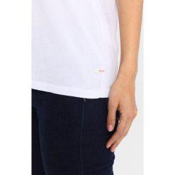 T-shirty damskie: Marc O'Polo DENIM SHORT SLEEVE Tshirt z nadrukiem white
