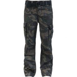 Bojówki męskie: Brandit Royal Vintage Trousers Spodnie kamuflaż (Dark Camo)