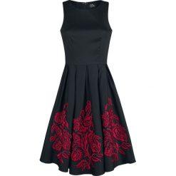 Dolly and Dotty Anna Adorable Embroidery Flower Sukienka czarny/czerwony. Różowe sukienki na komunię marki numoco, l, z dekoltem w łódkę, oversize. Za 346,90 zł.