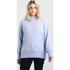 Bluzy rozpinane damskie: Ragwear Plus CHELSEA HEARTS PLUS Bluza z kapturem light blue
