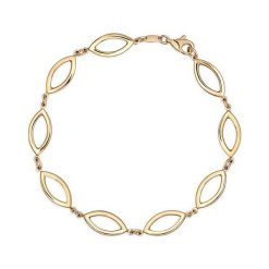 PROMOCJA Bransoletka Złota - złoto żółte 585. Żółte bransoletki męskie W.KRUK, złote. W wyprzedaży za 1190,00 zł.