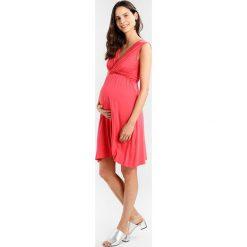 Sukienki hiszpanki: Envie de Fraise AMANDA Sukienka z dżerseju coral
