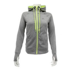 Bluzy damskie: Adidas Bluza damska Prime Full Zip szara r. XS (AB4115)