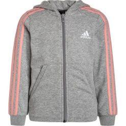 Bluzy chłopięce rozpinane: adidas Performance Bluza rozpinana medium grey heather/still breeze