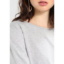 Bluzki asymetryczne: b.young TEMMA Bluzka z długim rękawem light grey melange