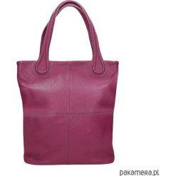 Torebka skórzana fuksja - MAGNIFICA marki Bolsa. Czerwone torebki klasyczne damskie Pakamera, ze skóry. Za 629,00 zł.