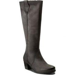 Kozaki TAMARIS - 1-25531-29 Anthracite 214. Szare buty zimowe damskie marki Tamaris, z materiału, na sznurówki. W wyprzedaży za 279,00 zł.