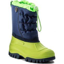 Buty zimowe chłopięce: Śniegowce CMP – Kids Hanki 3Q48064J Menta F663