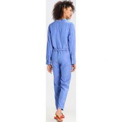 LOIS Jeans PENELOPE Kombinezon enzymatic wash. Czarne jeansy damskie marki LOIS Jeans, z bawełny. W wyprzedaży za 467,35 zł.