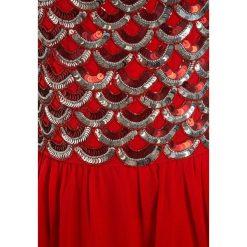 Sukienki dziewczęce z falbanami: Friboo Sukienka koktajlowa red