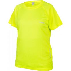 Bluzki asymetryczne: Brugi Koszulka damska 2HJL 60 żółta r. L