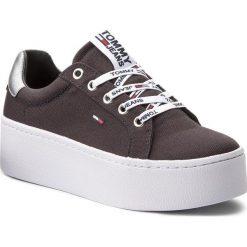 Sneakersy damskie: Sneakersy TOMMY JEANS – Flatform Sneaker EN0EN00237 Midnight 403