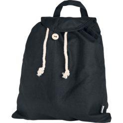 Westford Mill Organic Festival Backpack Plecak czarny. Czarne plecaki męskie Westford Mill, w paski, z bawełny. Za 54,90 zł.