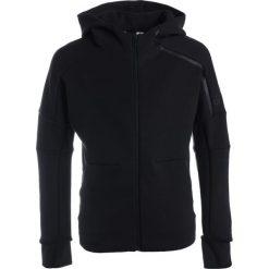 Bluzy męskie: adidas Performance Bluza rozpinana black