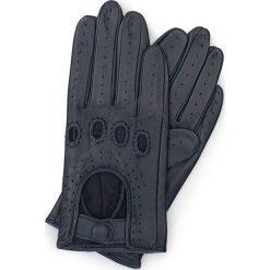 Rękawiczki damskie 46-6-275-GC. Niebieskie rękawiczki damskie Wittchen. Za 99,00 zł.