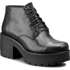 Botki VAGABOND - Dioon 4247-301-20 Black. Czarne botki damskie na obcasie marki Vagabond, z materiału. W wyprzedaży za 309,00 zł.