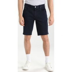 Armani Exchange Szorty jeansowe navy. Czarne spodenki jeansowe męskie marki Armani Exchange, l, z kapturem. W wyprzedaży za 351,20 zł.