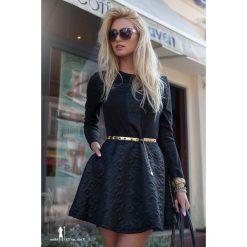Sukienka Czarna LB2246. Czarne sukienki Fasardi, m. Za 59,00 zł.