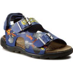 Sandały GEOX - J. Sand. Storm I J6242I 000BC C4401  Royal/Multicolor. Niebieskie sandały męskie skórzane Geox. W wyprzedaży za 159,00 zł.